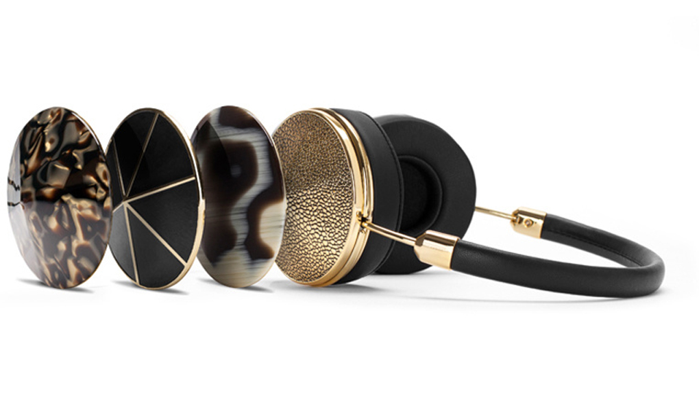 Frends With Benefits Black and Gold Headphones