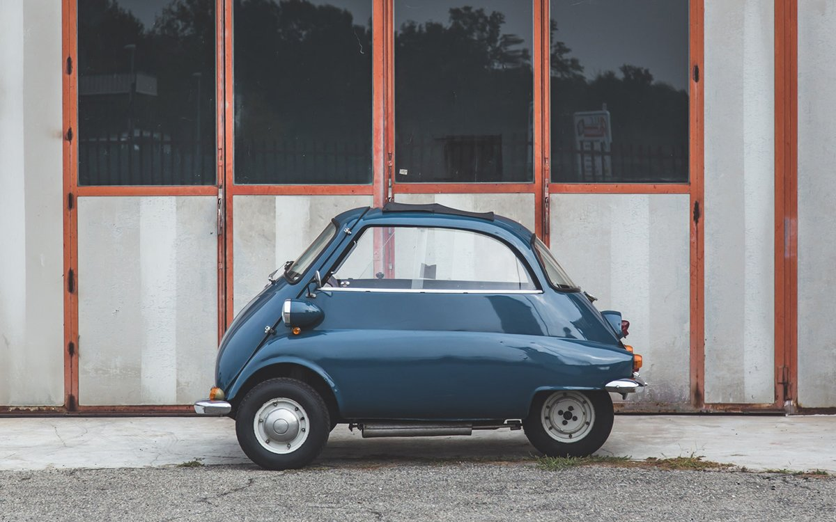One Jolly Odd BMW Isetta To Cross The Auction Block  InsideHook