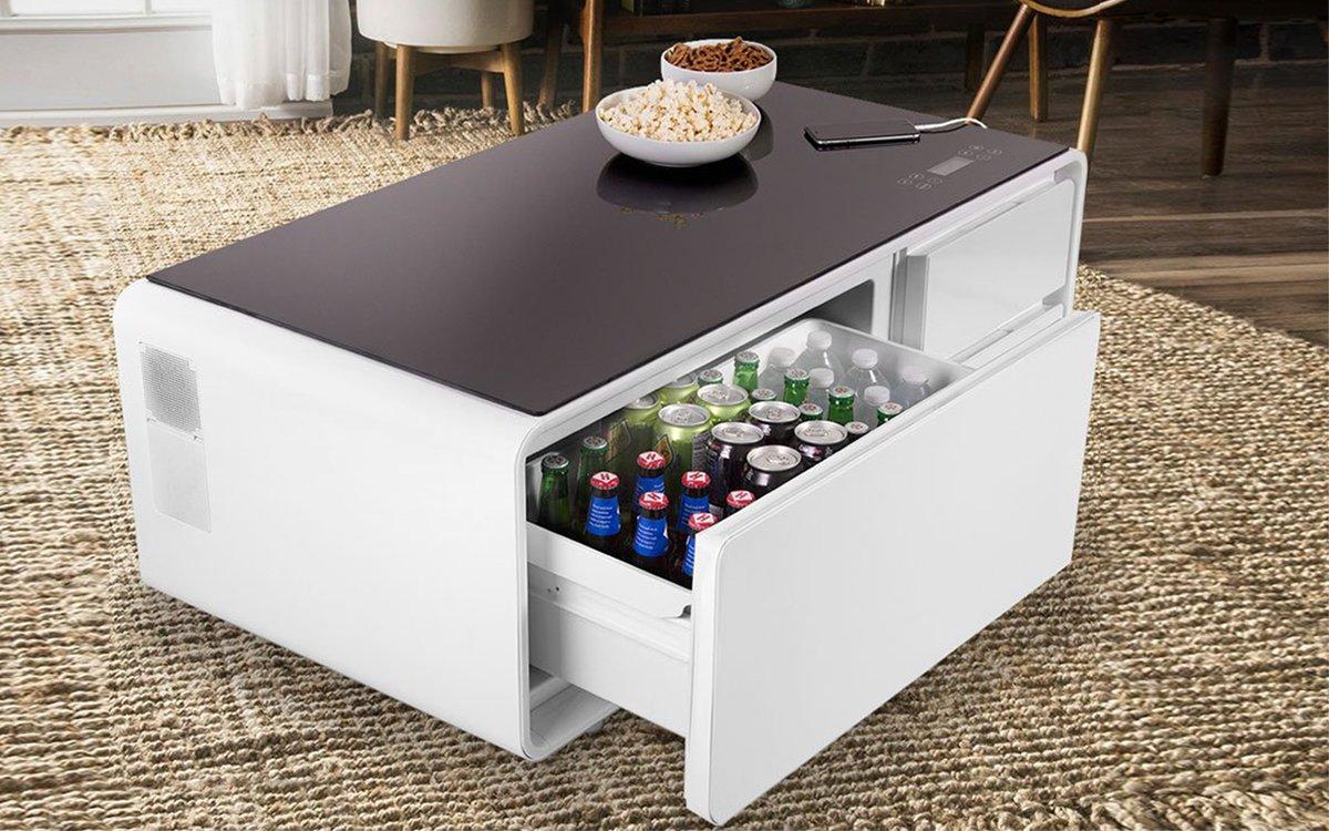 Beer Cooler Coffee Table Sobro Refrigerator Coffee Table Funding On Indiegogo Insidehook