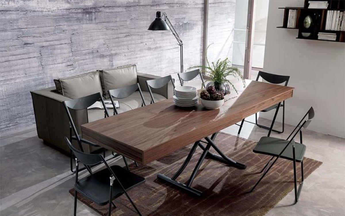 Coffee Table Turns Into Dining Table Studio Ozeta Newood Adjustable Table Insidehook