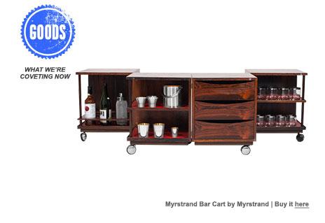 Myrstrand Bar Cart