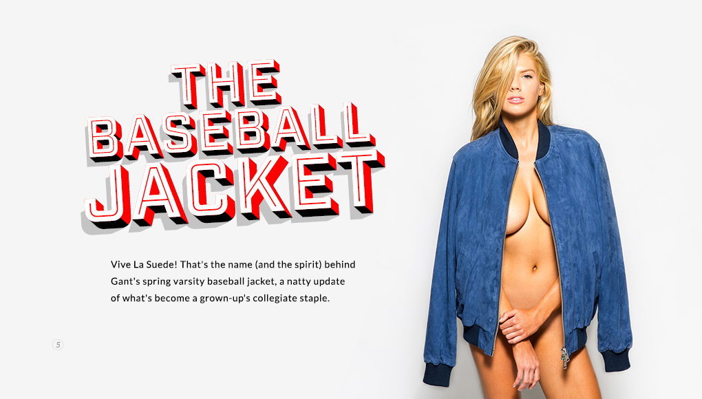 Spring Style Issue 2014 - The Baseball Jacket