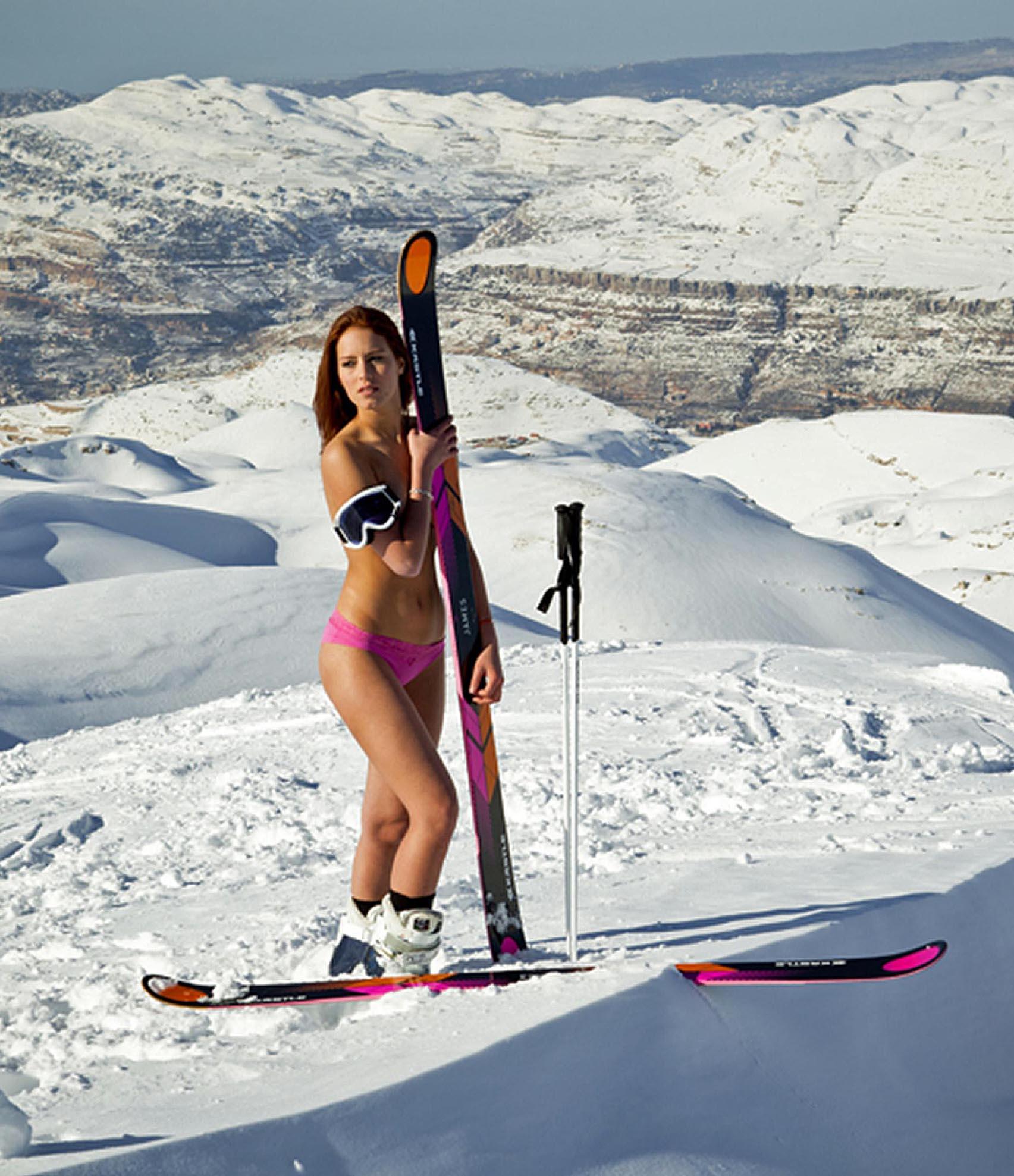 Смотреть порно на горнолыжном склоне 5 фотография